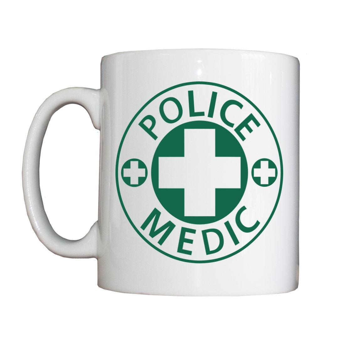 Personalised 'Police Medic' Drinking Vessel PoliceMedicVessel