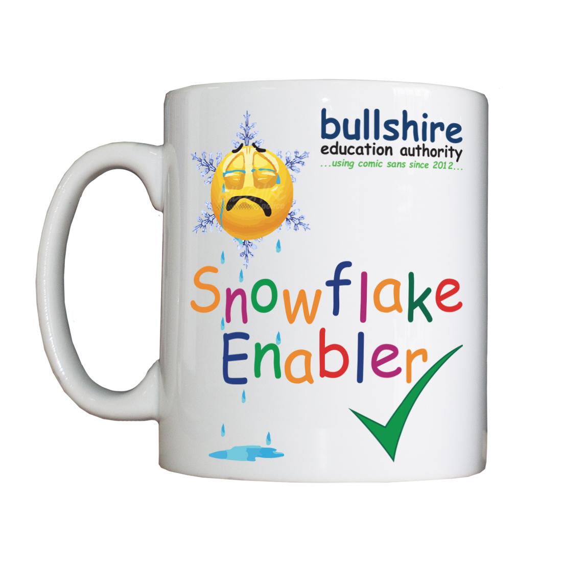 Personalised 'Snowflake Enabler' Drinking Vessel SnowflakeEnablerVessel