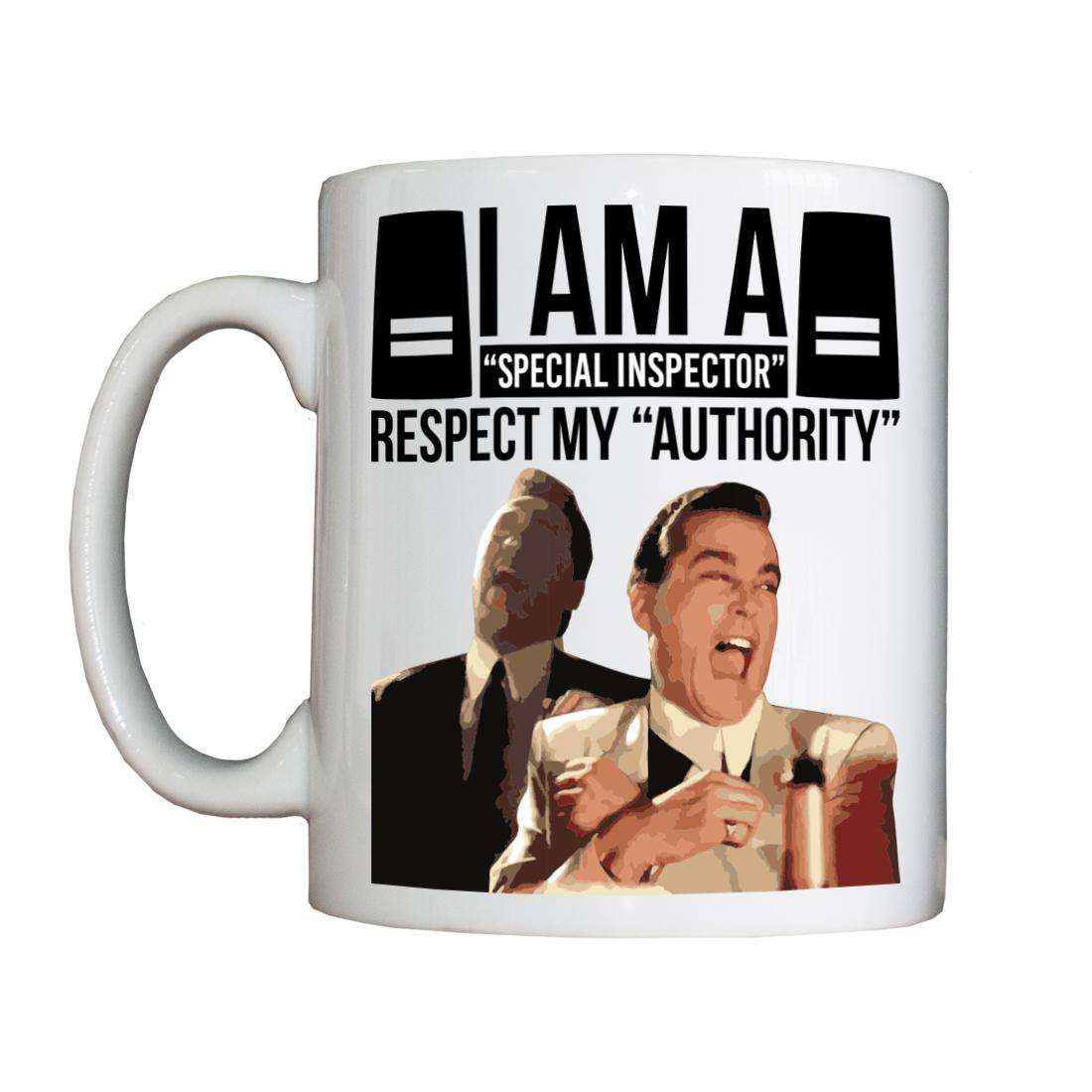 Personalised 'I am a Special Inspector' Drinking Vessel (Mug) SpecialInspectorVessel