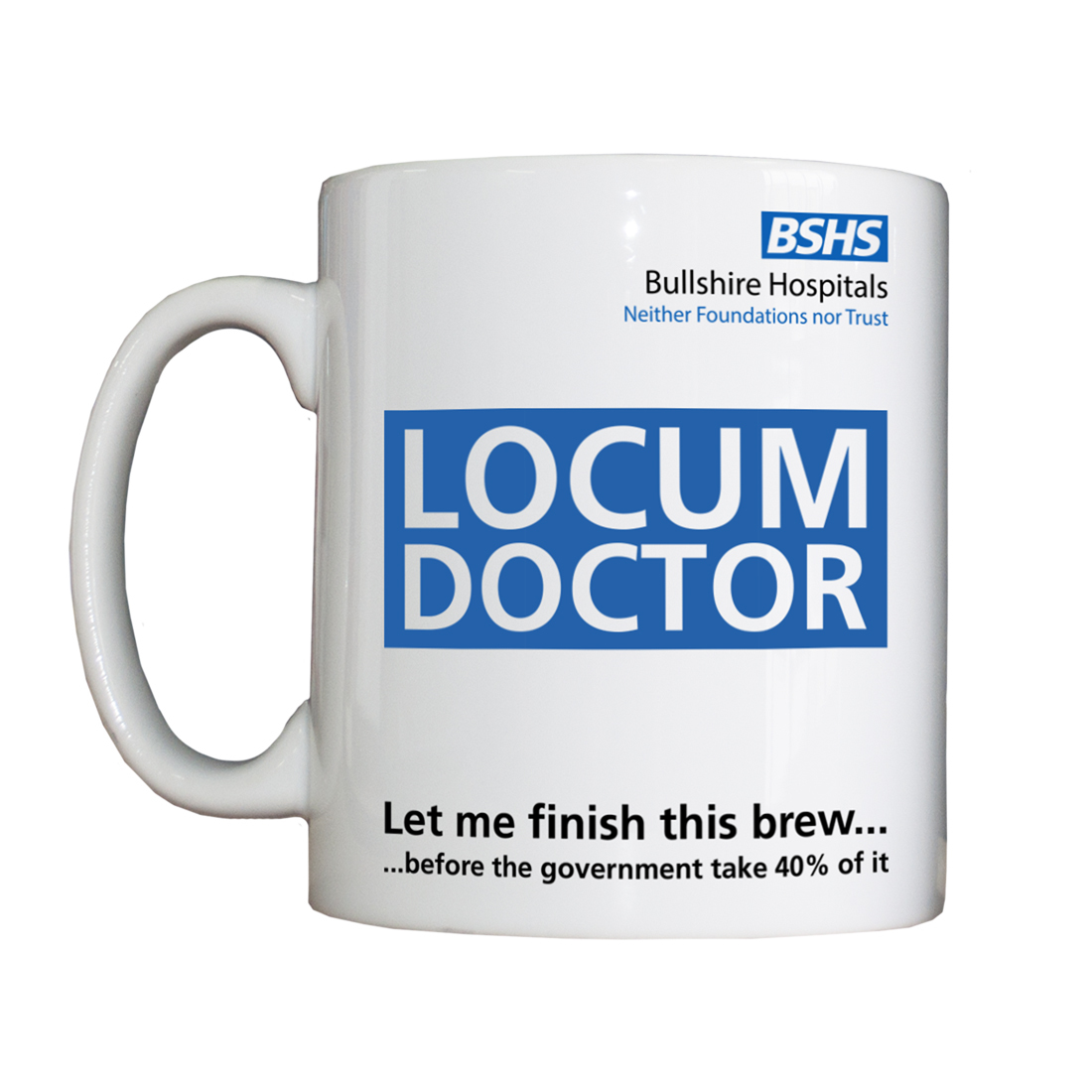 Personalised 'Locum Doctor' Drinking Vessel LocumDoctorVessel