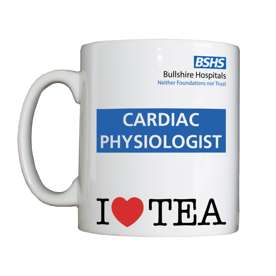 Personalised 'Cardiac Physiologist' Drinking Vessel BSHSCardiacPhysiologiseVessel