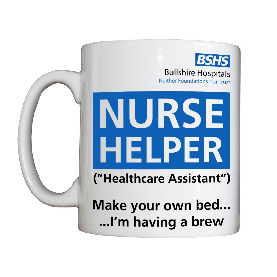 Personalised 'Nurse Helper' Drinking Vessel BSHSNurseHelperVessel