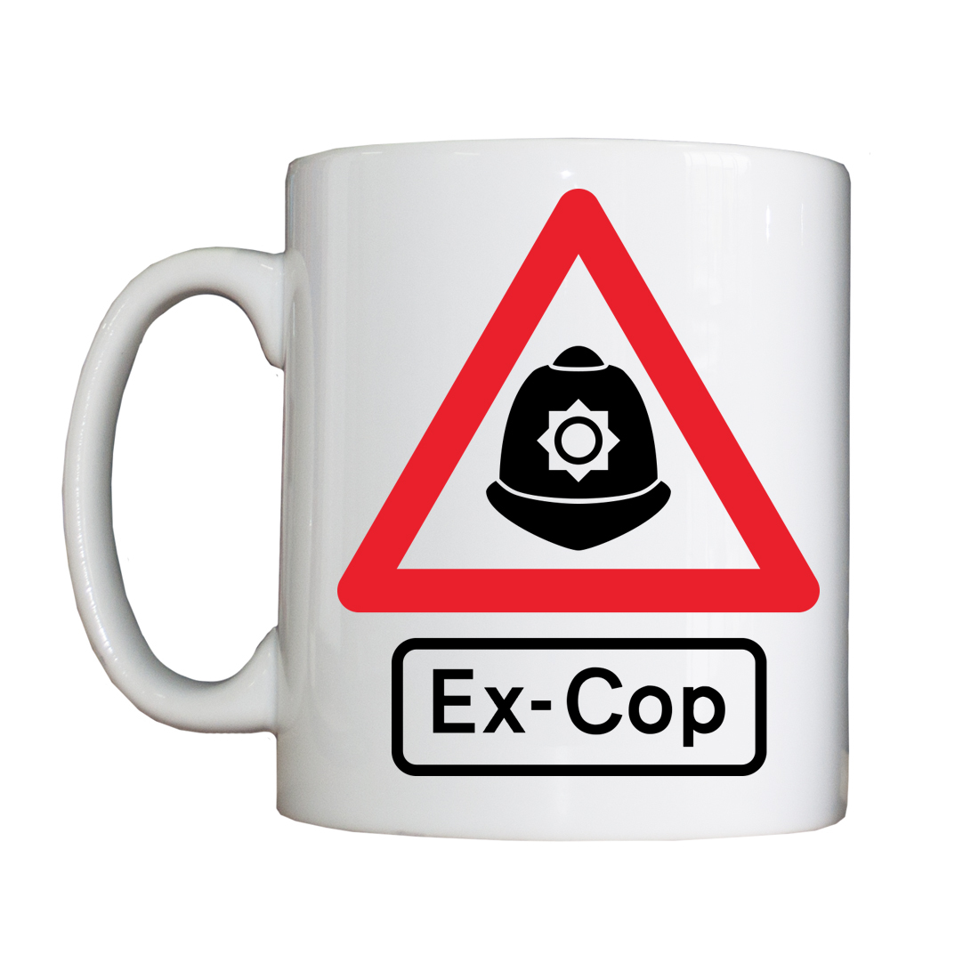 Personalised 'WARNING: Ex-Cop' Drinking Vessel WARNINGExCopVessel