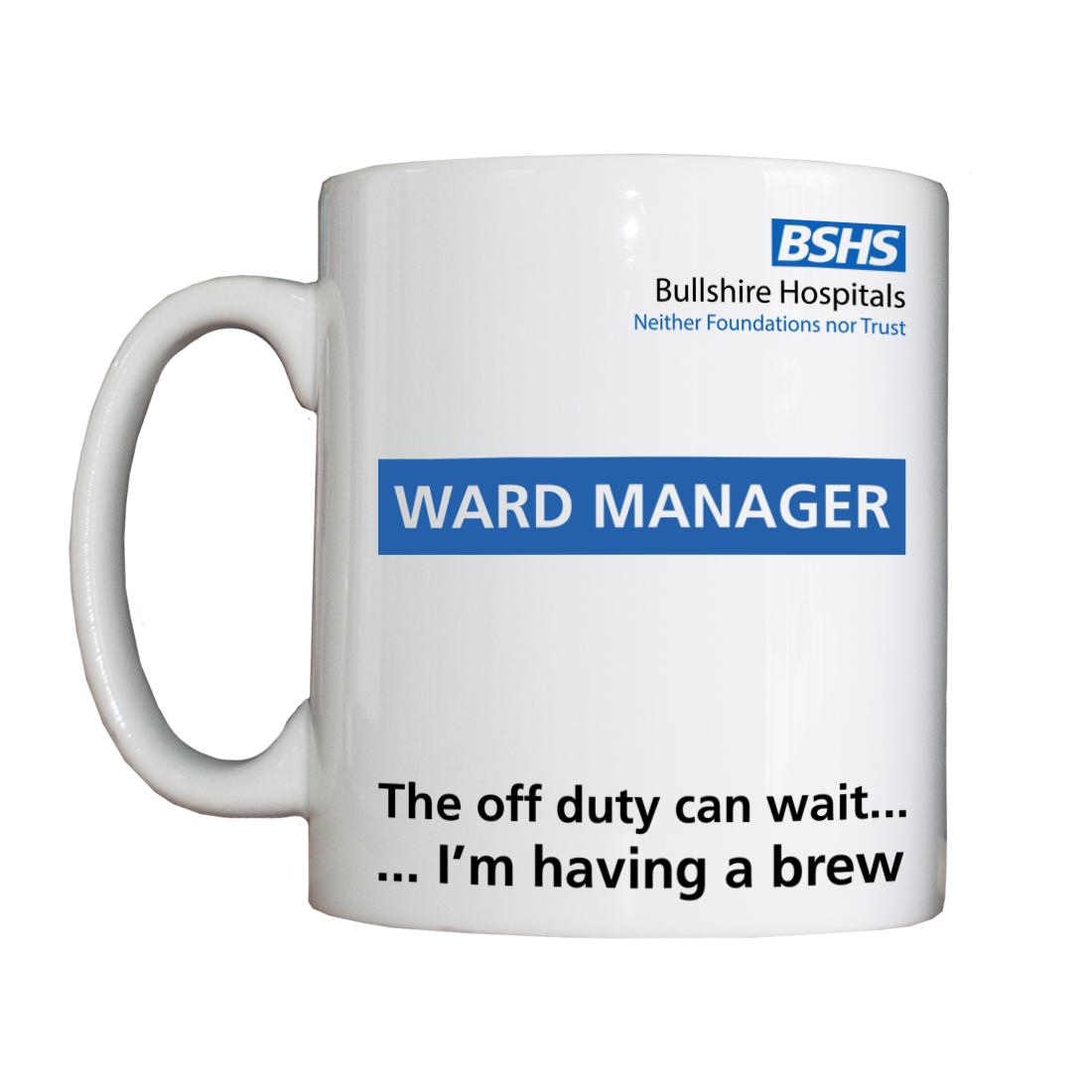 Personalised 'Ward Manager' Drinking Vessel BSHSWardManagerVessel
