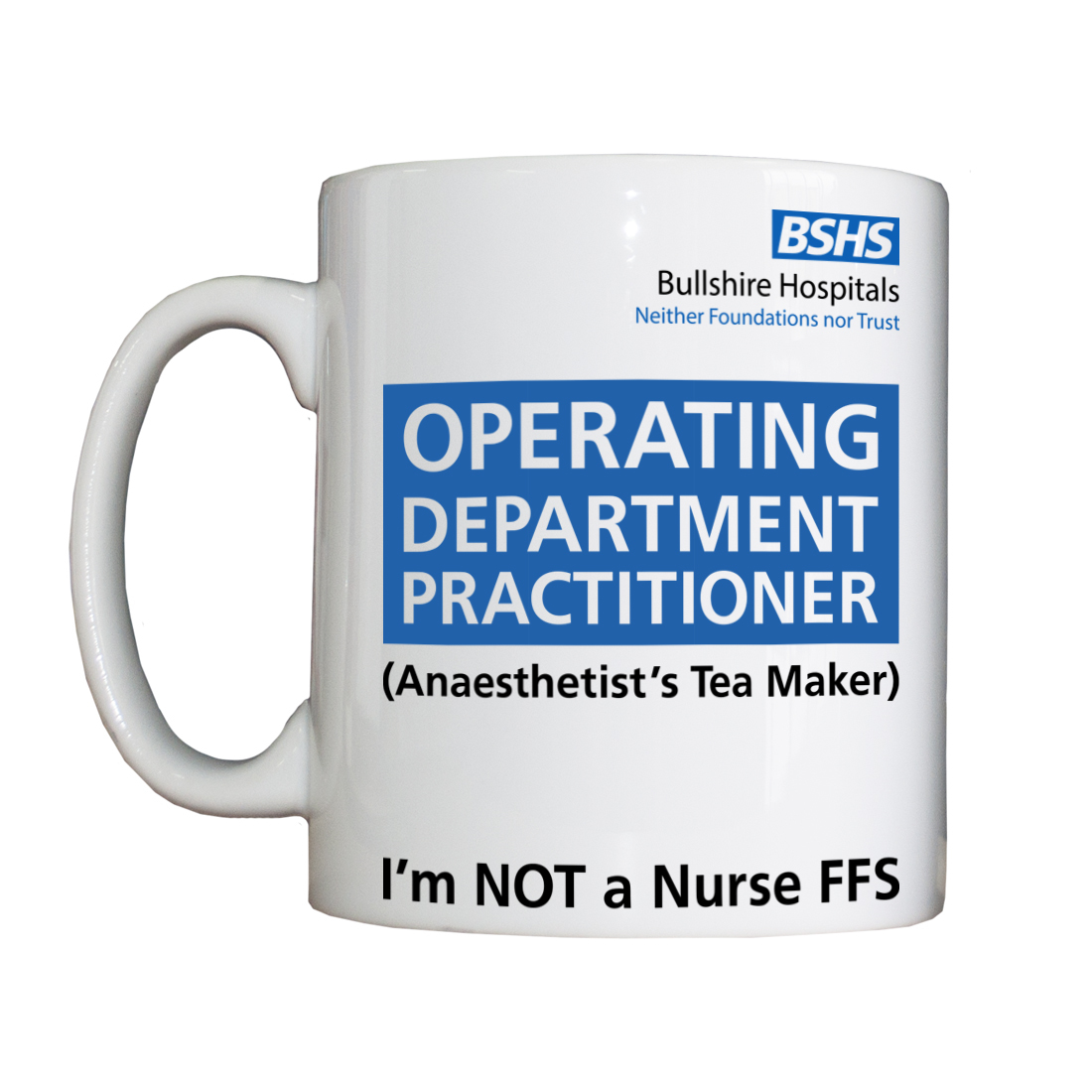 Personalised 'Anaesthetist's Tea Maker' Drinking Vessel NEWODPVessel