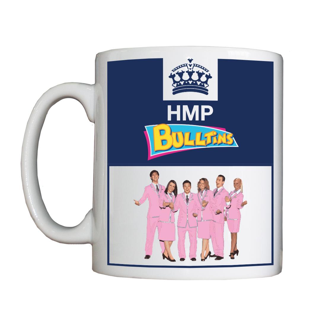 Personalised 'HMP Bulltins' Drinking Vessel (Mug) HMPBulltinsVessel