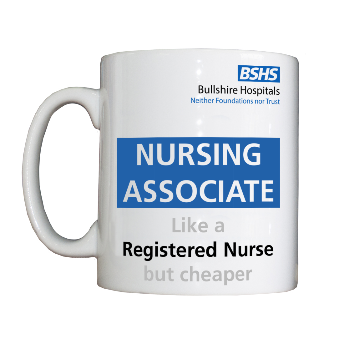 Personalised 'Nursing Associate' Drinking Vessel BSHSNursingAssociateVessel