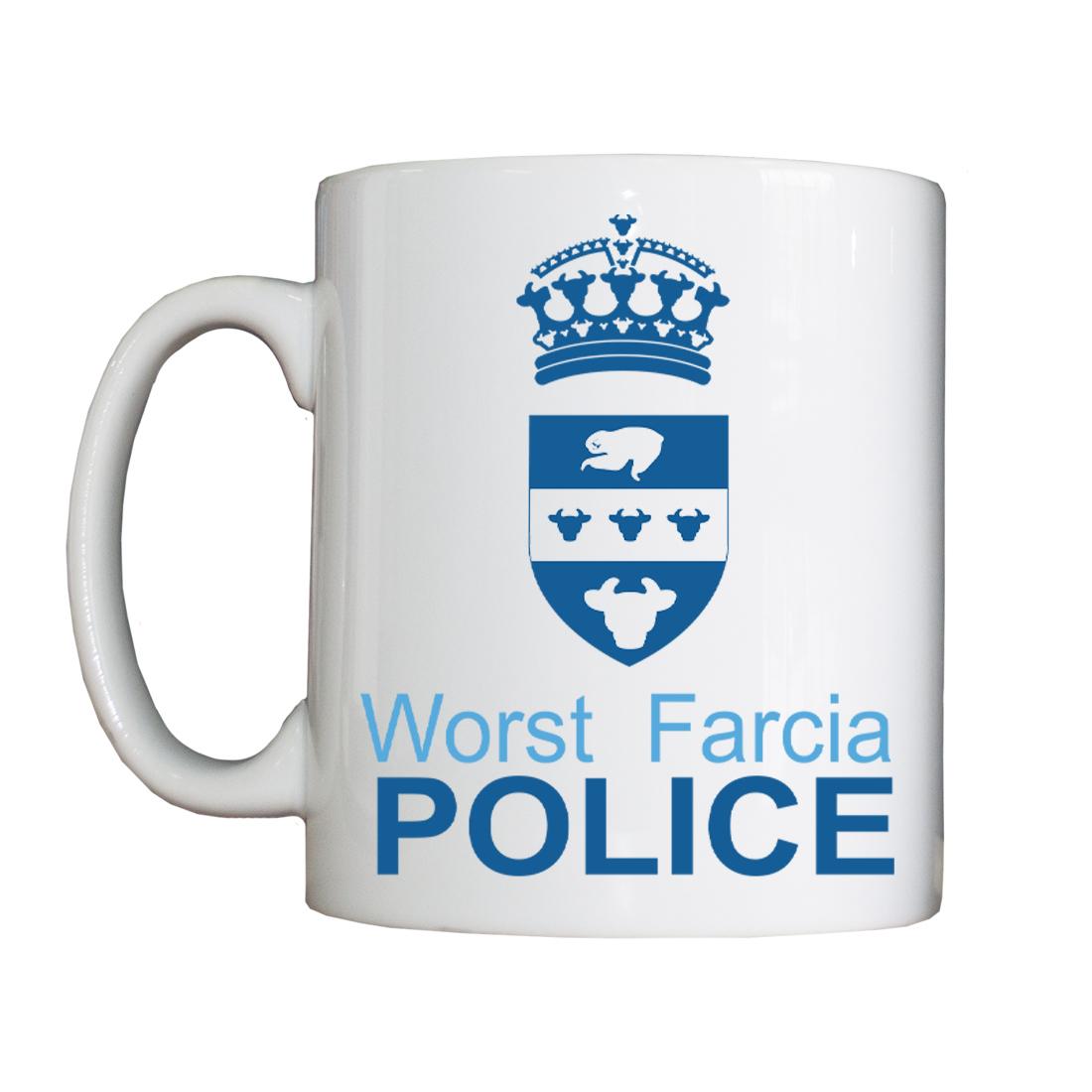 Personalised 'Worst Farcia' Drinking Vessel (Mug) WorstFarciaMugForce