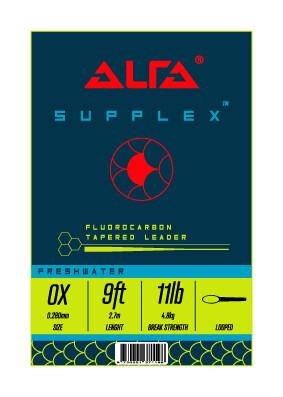 Alfa Supplex Fluorocarbon Leader