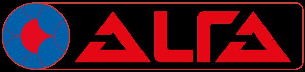 Alfa Logo sticker large