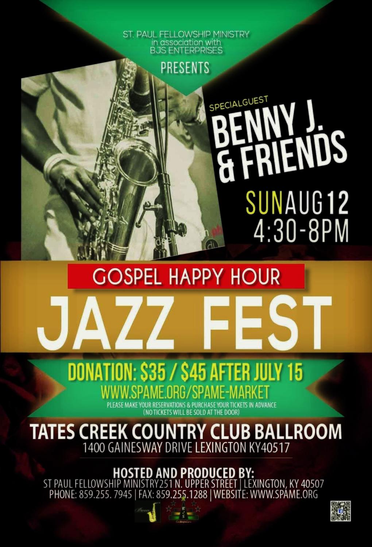 Gospel Jazz Happy Hour Tickets
