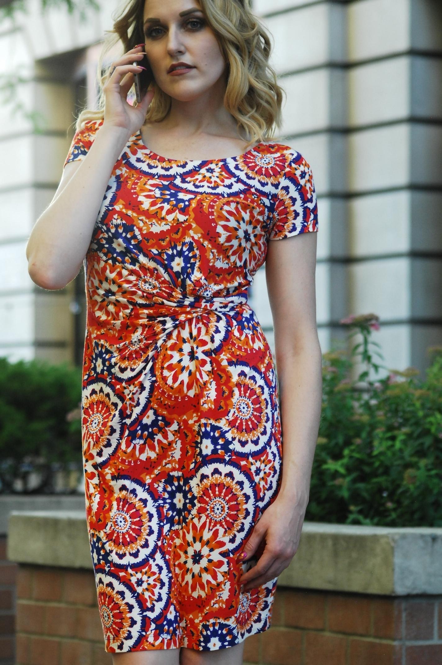 Orange formal dresses