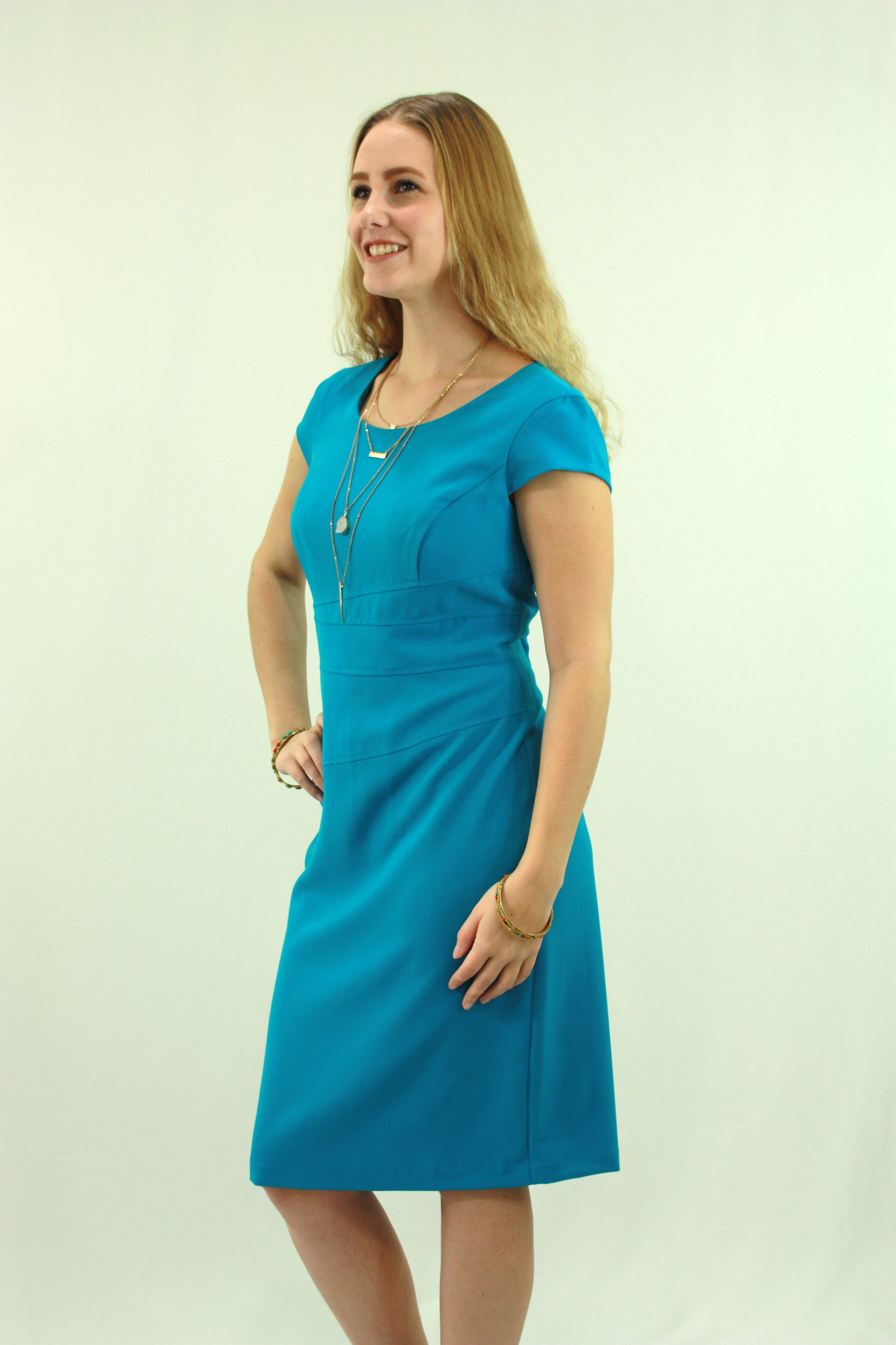 Aqua Blue Dress|Summer Dresses Online – Signatureweaves | Women\'s ...