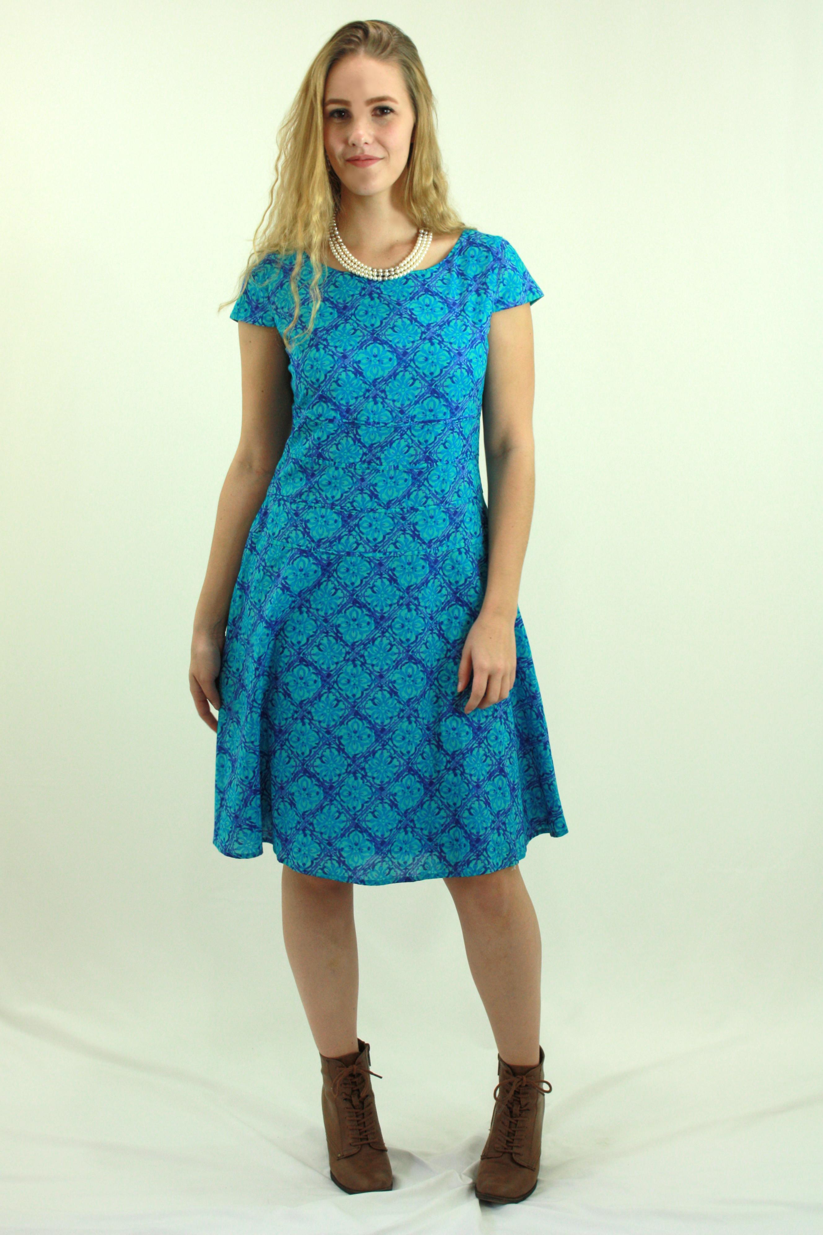 Blue Casual Dresses