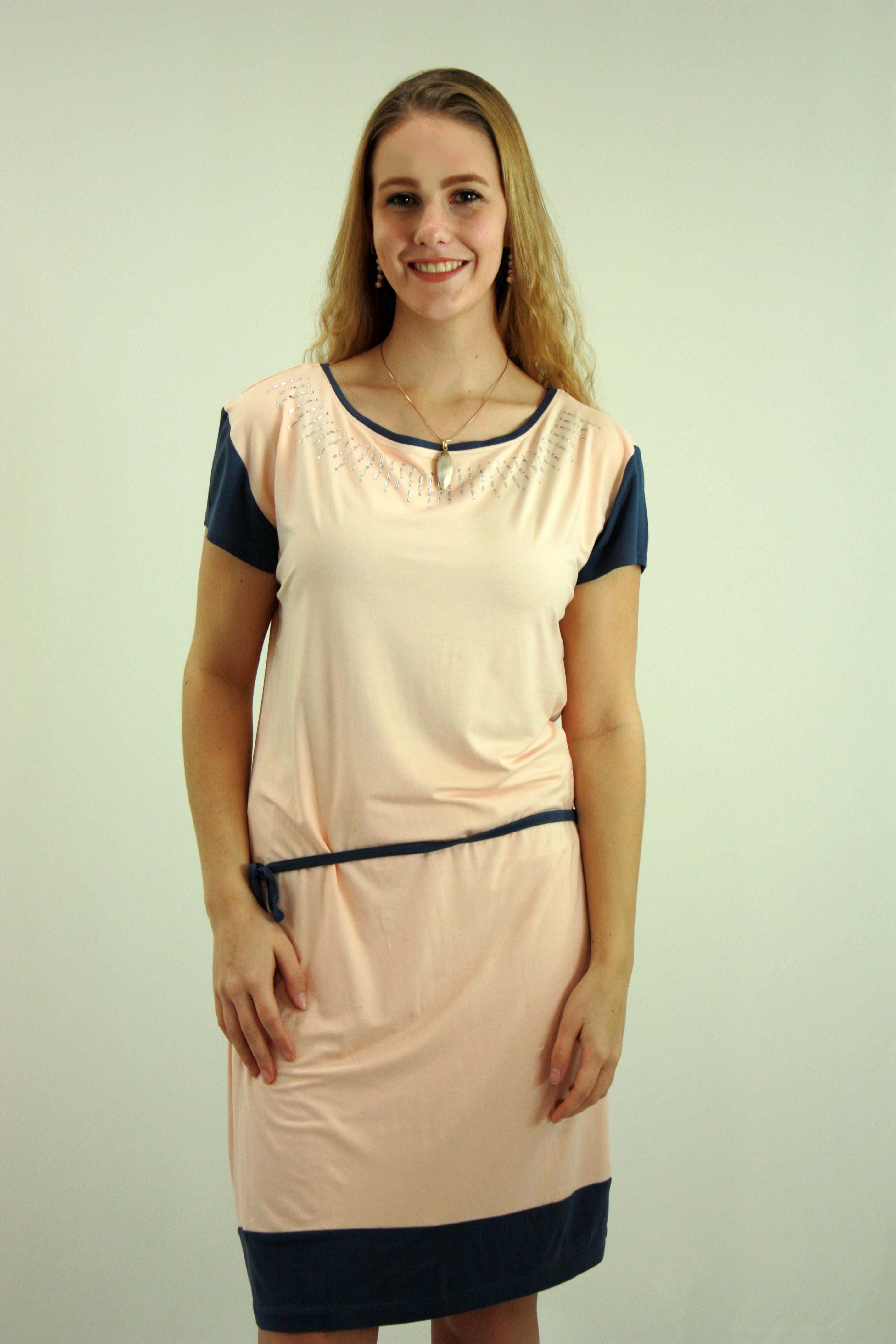 Bi-colour dress