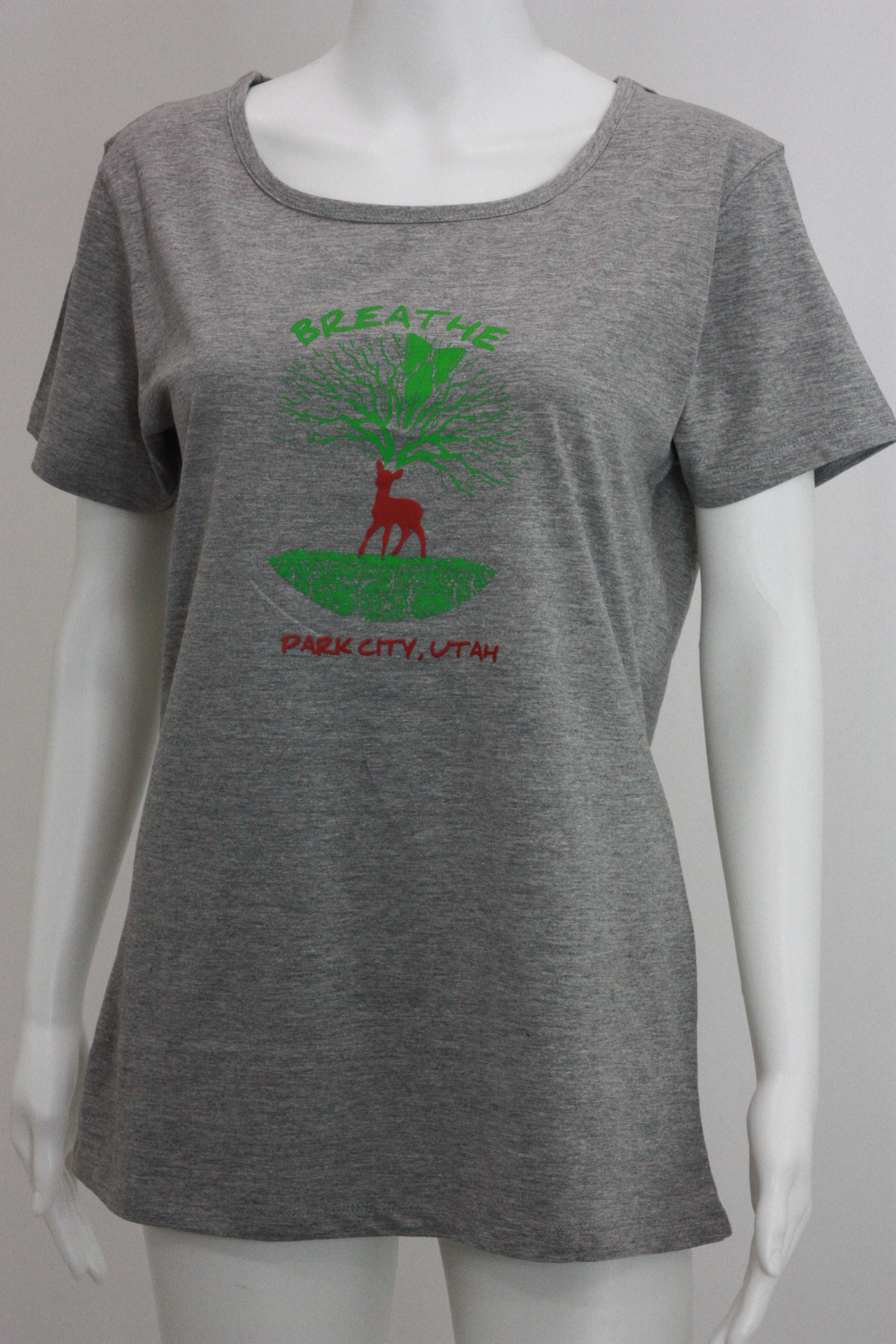 Women Grey T-Shirt