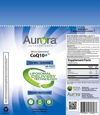 Micro-Liposomal CoQ10+ Vitamin C