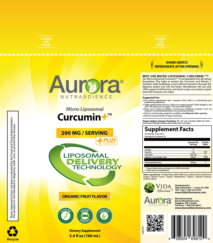 Micro-Liposomal Curcumin+ Vitamin C