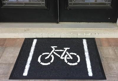 Large Bike Doormat