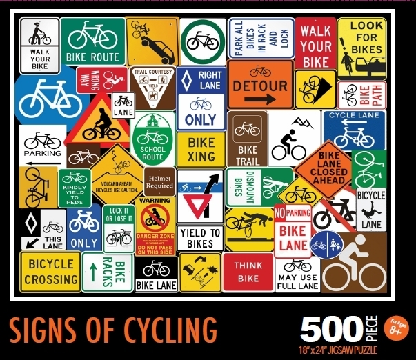 "Puzzle ""Signs of Cycling"""