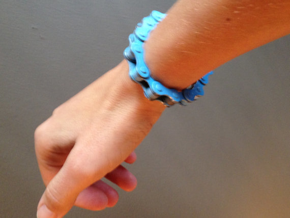 Light Blue Bracelink