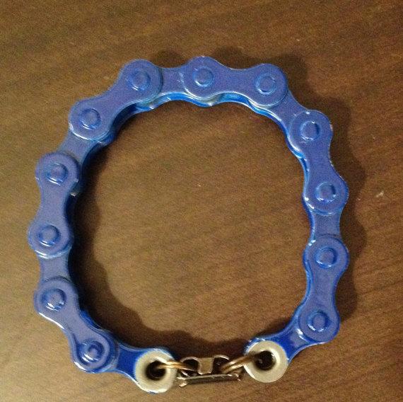 Dark Blue Bracelink