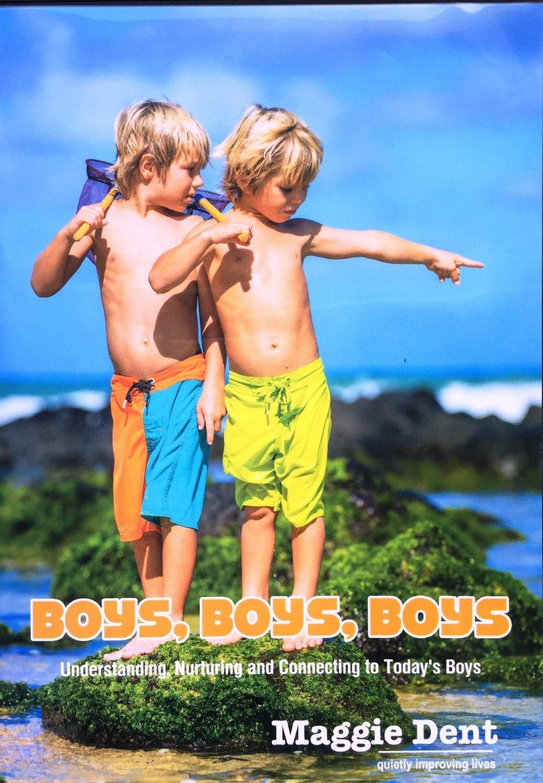 Boys Boys Boys DVD- Maggie Dent MDBBB
