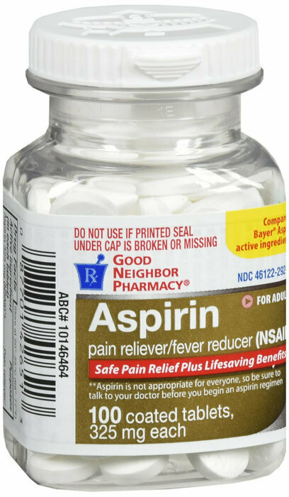 GNP ASPIRIN THIN COAT 325MG 100CT