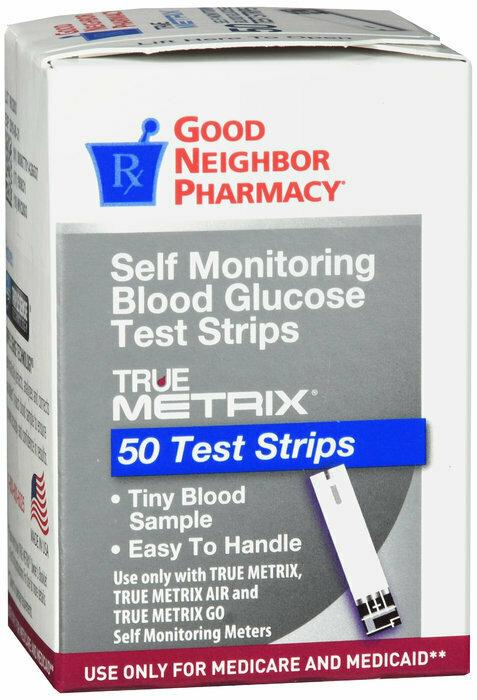 GNP TRUEMETRIX TEST STRIP 50CT