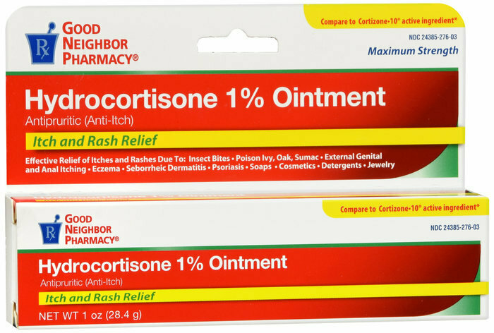 GNP Hydrocortisone 1% TOPICAL OINTMENT 1 OZ