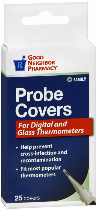 GNP THERMOMETER PROBE COVERS 25 CT