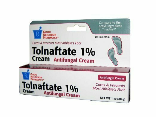 GNP Tolnaftate Cream 1% Cures & Prevents Most Athlete's Foot