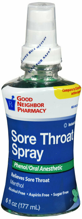 GNP SORE THROAT MENTHOL SPRAY 6 OZ