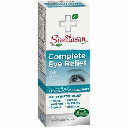 Similasan Complete Eye Relief Sterile Eye Drops 0.33 oz