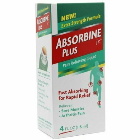 Absorbine Jr. Plus Pain Relieving Liquid 4 oz