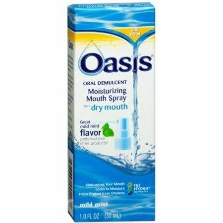 Oasis Moisturizing Mouth Spray Mild Mint 1 oz