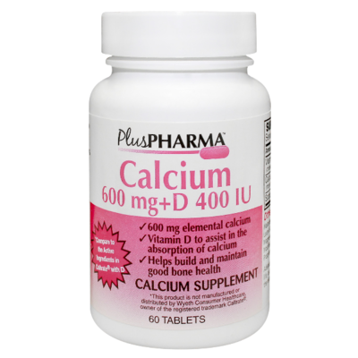 Calcium 600+D Plus Pharma