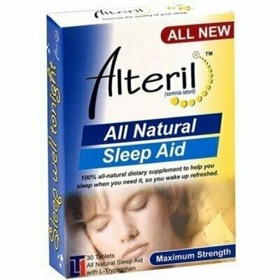 Alteril All Natural Sleep Aid 30 Tablets