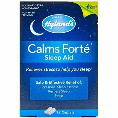 Hyland's Calms Forte Sleep Aid Tablets 32 each
