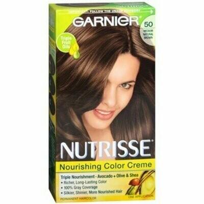 Garnier Nutrisse Haircolor - 50 Truffle (Medium Natural Brown) 1 Each
