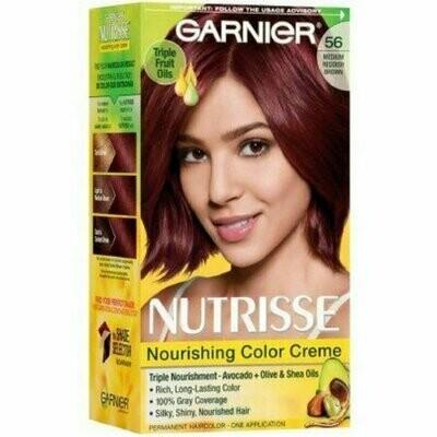 Garnier Nutrisse Nourishing Color Creme, 56 Medium Reddish Brown 1 each