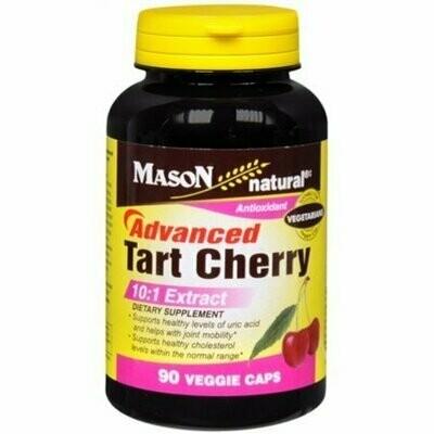Mason Natural Advanced Tart Cherry 10:1 Veggie Caps 60 each
