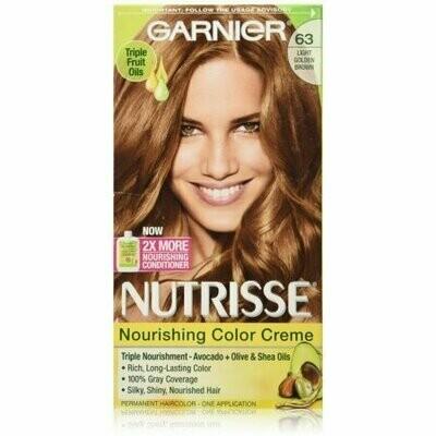 Garnier Nutrisse Haircolor Creme, Light Golden Brown [63] 1 each