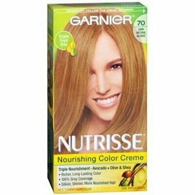 Garnier Nutrisse Haircolor - 70 Almond Creme (Dark Natural Blonde) 1 Each