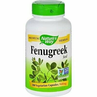 Nature's Way Fenugreek Seed 610 mg, 720 Capsules