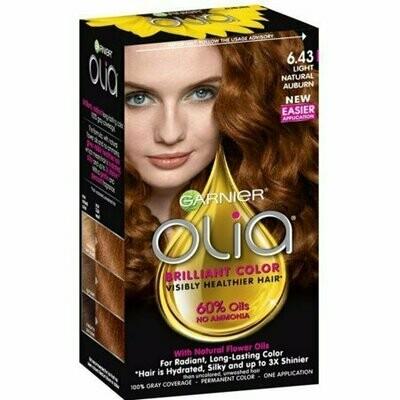 Garnier Olia Ammonia Free Hair Color [6.43] Light Natural Auburn 1 each