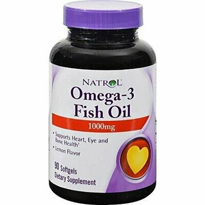 Omega3 Fish Oil 90 softgels