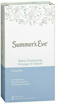 SUMMERS EVE DOUCHE X-CLEANSING TWIN