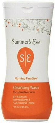 SUMMERS EVE CLEANSING WASH PARADISE 9 OZ