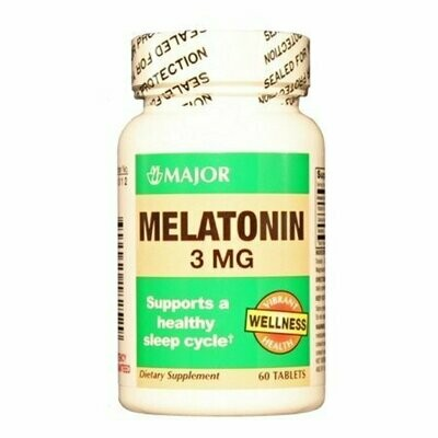 Melatonin 3 Mg 60 Tablets